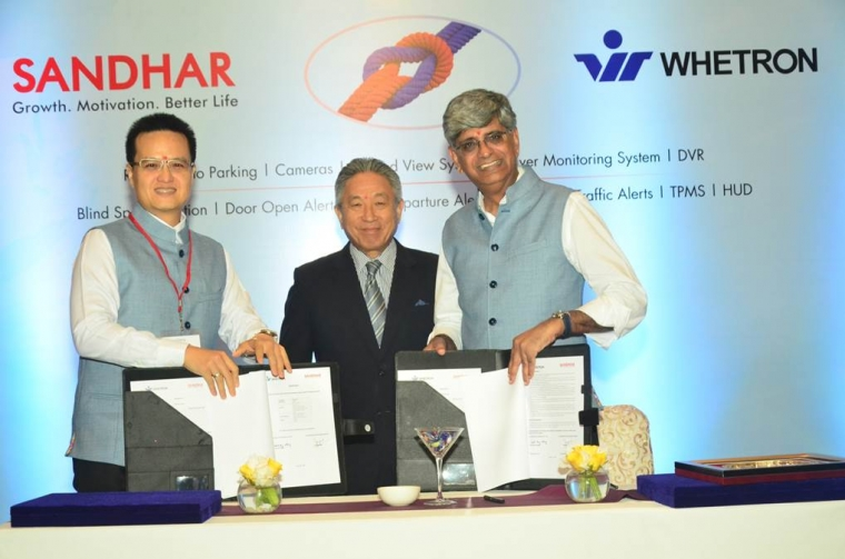 Sandhar Technologies Inks JV Agreement with Taiwan-based Whetron Electronics